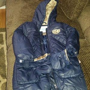 Weatherproof  baby boy snowsuit